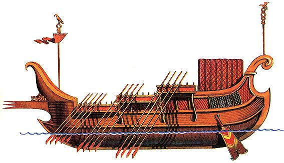почему греки любили окрашивать корпус корабля паруса и снасти в синий цвет