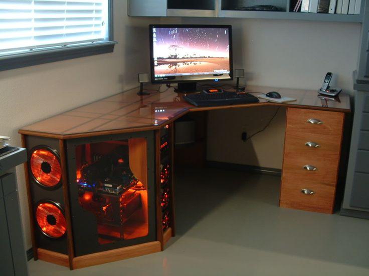 Как самому сделать компьютерные столы своими руками 40