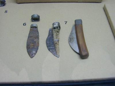 История появления складных ножей. Ножи Римского периода.